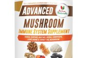 Advanced Mushroom Immune System Supplement by Activa Naturals
